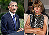Barack Obama Attends Fundraiser at Vogue's Anna Wintour's House
