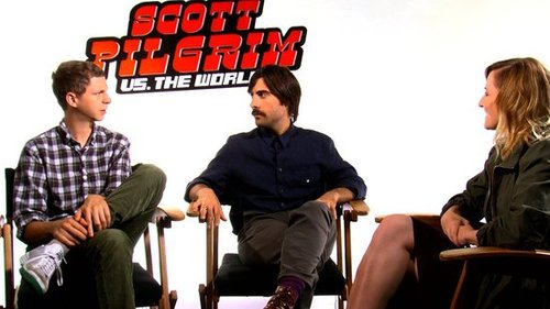 Video of Michael Cera & Jason Schwartzman Interview For Scott Pilgrim vs. the World