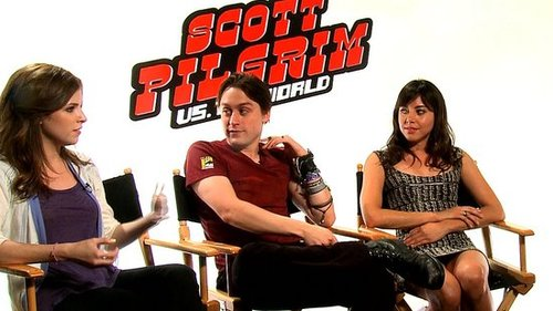Anna Kendrick, Kieran Culkin, and Aubrey Plaza Interview For Scott Pilgrim vs. the World