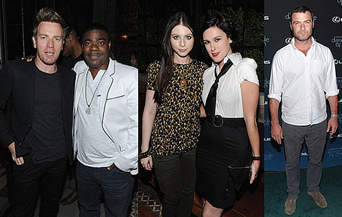 Pictures of Liev Schreiber, Rumer Willis, Michelle Trachtenberg, Tracey Morgan, and Ewan MacGregor at a Green Debate