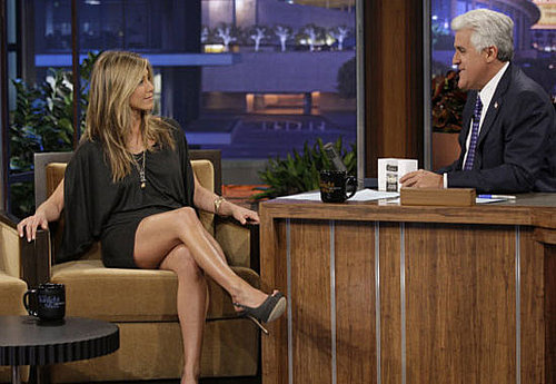 Video of Jennifer Aniston Promoting The Switch on The Tonight Show With Jay Leno