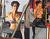 Halle Berry Bikini Pictures Shooting Dark Tide in South Africa