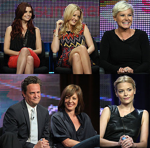 Pictures of Matthew Perry, Joanna Garcia, Jaime King and More From ABC TCA Panel