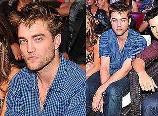 Robert Pattinson joins his Eclipse co-stars Taylor Lautner and Ashley Greene at the 2010 Teen Choice Awards