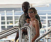 Slide Picture of Heidi Klum With Seal and Lou in Nice
