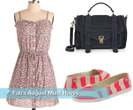 Fab's August Must Haves