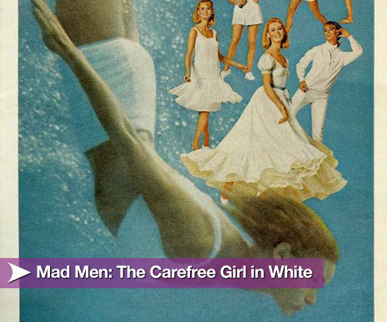 Mad Men: The Carefree Girl in White