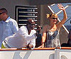 Slide Picture of Heidi Klum and Seal on Yacht in France