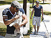 Pictures of Kellan Lutz Driving U-Haul With Dog
