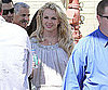 Slide Picture of Britney Spears Shopping in Calabasas