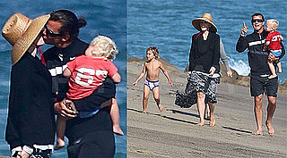 Pictures Of Gwen Stefani And Gavin Rossdale At The Beach
