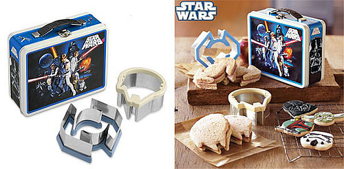 Star Wars Lunchbox Tin and Sandwich Cutter