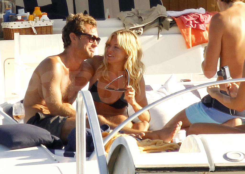 Pictures of Sienna Miller and Jude Law Being So Cute