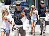 Pictures of Reese Witherspoon and Ava Phillippe Getting Iced Teas in LA