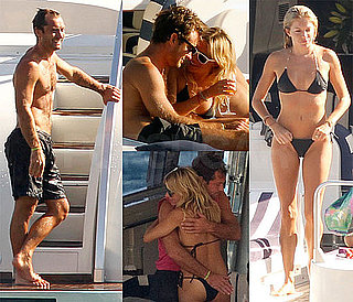 Sienna Miller Bikini Pics on A Yacht With Shirtless Jude Law In Ibiza, Spain