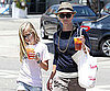 Slide Picture of Reese Witherspoon and Ava Getting Iced Tea in LA