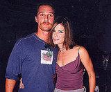 Matthew McConaughey and Sandra Bullock cuddled close at the 1999 show.