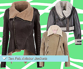 Aviator Jackets for Autumn Winter 2010 from Topshop, Burberry, ASOS, Next and Rick Owens