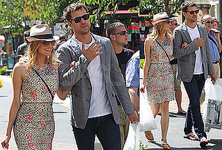 Pictures of Joshua Jackson and Diane Kruger at The Grove in LA