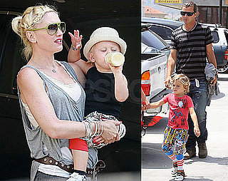 Gwen Goes Out to Lunch With Her Fashionable Family