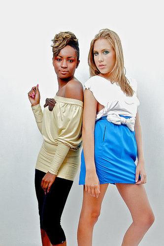 ETHNIC Fashion with African material Shiny Kikoi