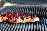 Pork Tenderloin With Spicy Blackberry Glaze