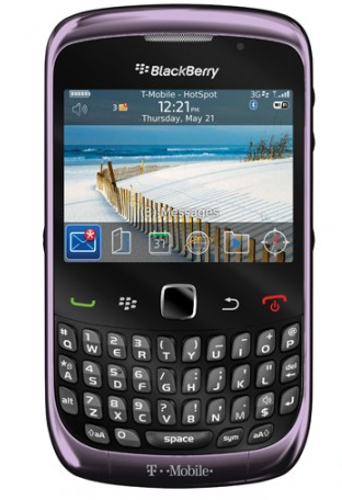 Pictures of the BlackBerry Curve 3G