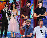 Pictures of Robert Pattinson, David Beckham, Zac Efron, Glee Cast, Gossip Girl, Vampire Diaries at 2010 Teen Choice Awards
