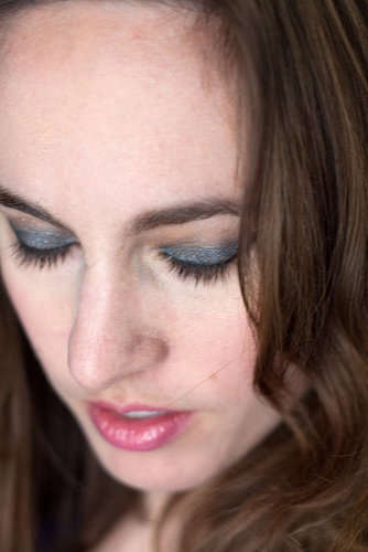 Estee Lauder Blue Dahlia Makeup Look 2010-08-11 13:00:00