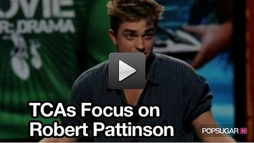 Video of Robert Pattinson at the Teen Choice Awards 2010-08-10 23:30:00