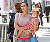 Slide Picture of Jessica Alba and Honor in LA 2010-08-10 15:15:00