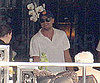 Slide Picture of Leonardo DiCaprio On Yacht in Italy