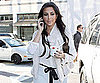 Slide Picture of Kim Kardashian Getting Frozen Yogurt in LA