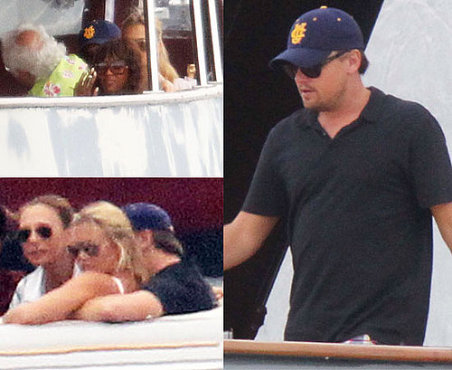 Pictures of Leonardo DiCaprio, Bar Refaeli and Naomi Campbell In Sardinia On A Yacht Together, Away From Blood Diamond Case