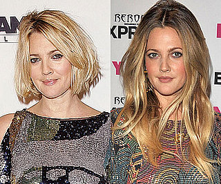 Pictures of Drew Barrymore With Short and Long Hair 2010-08-11 12:00:00