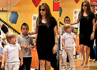 Pictures of Angelina Jolie With Shiloh and Maddox in Tokyo