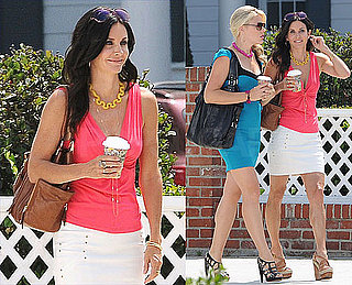 Courteney and Busy Return to Cougar Town As Jennifer Considers Paying a Visit