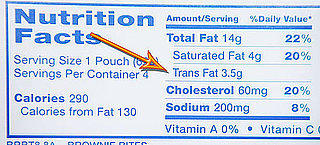 Foods That Contain Trans Fatty Acids