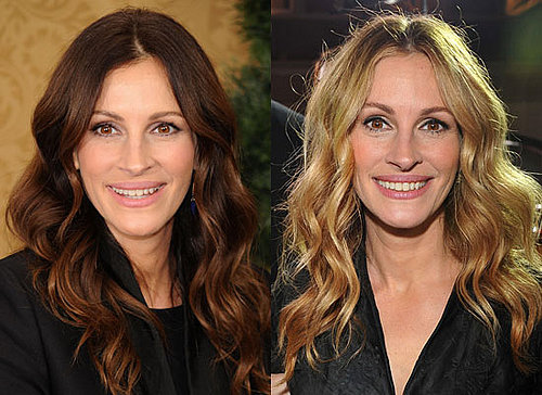 Which Hair Colour Works Best on Julia Roberts?