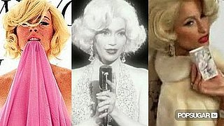 Video of Celebrities Dressed Like Marilyn Monroe