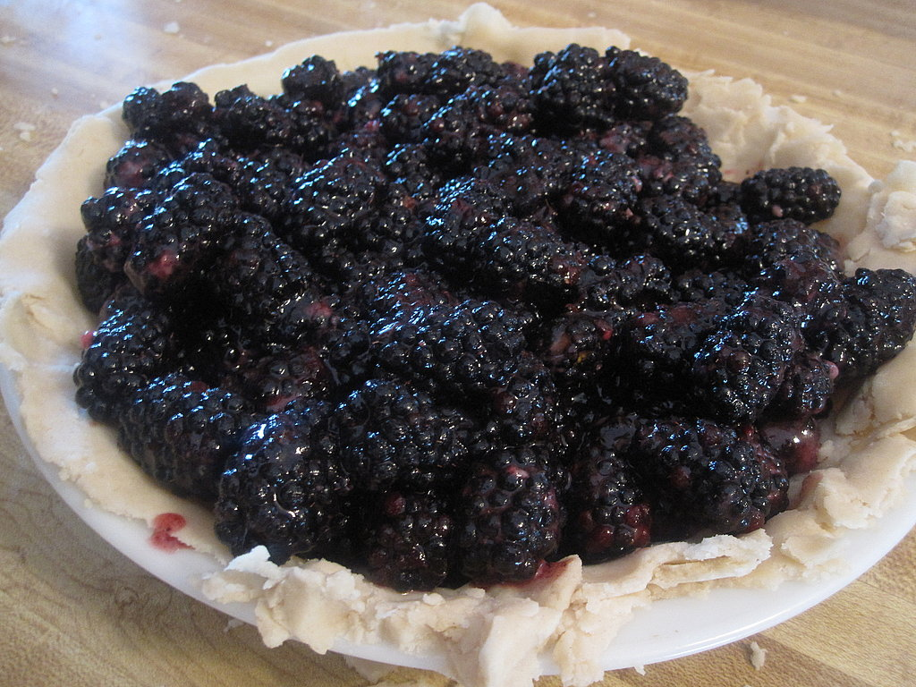 Marilyn Batali's Blackberry Pie