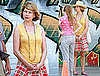 Pictures of Michelle Williams on Set
