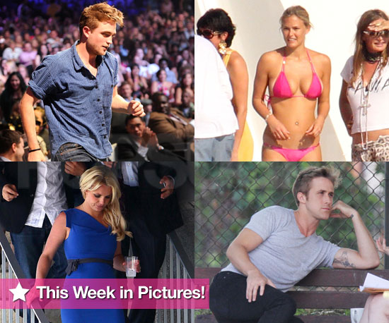Robert Pattinson, Bar's Bikini Body, and Britney: This Week in Pictures!