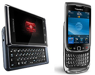 Droid 2 and BlackBerry Torch Released Today