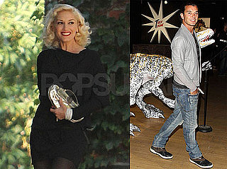 Pictures of Gwen Stefani Girls' Night Out and Gavin Rossdale Buying Art