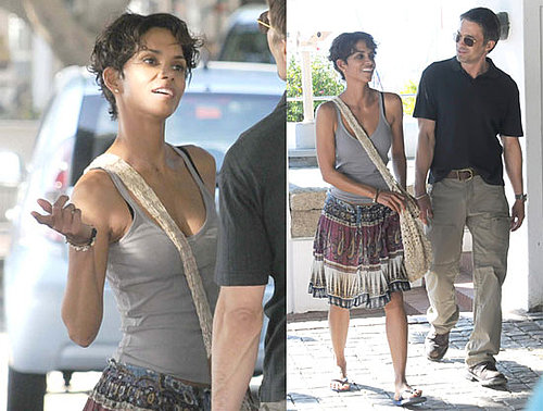 Pictures of Halle Berry and Olivier Martinez on the Set of Dark Tide in South Africa