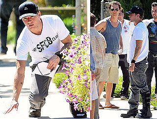 Pictures of Ryan Phillippe and Matthew McConaughey Filming The Lincoln Lawyer