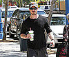 Slide Picture of Eric Dane Getting Smoothie in LA