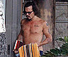 Slide Picture of Johnny Depp Shirtless in Hawaii