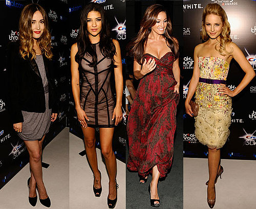 Pictures of Jessica Szohr, Rose Byrne, Dianna Agron, Kelly Brook, Sofia Vergara at Breakthrough Awards in LA